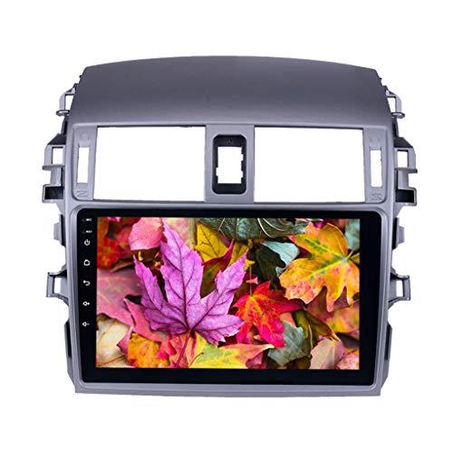 TOOGOO Android 8.1 2 L?rm Auto Radio WiFi Bluetooth 4-Core Multimedia Spieler GPS Navigation Für Toyota Corolla 2008 2009 2010 2011 2012 2013