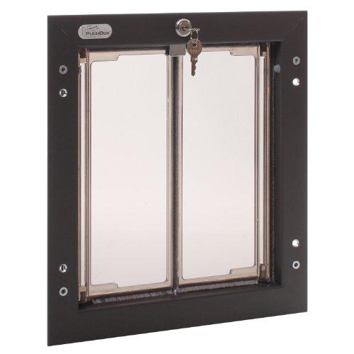Plexidor Performance Pet Türen Medium Bronze Tür Montage