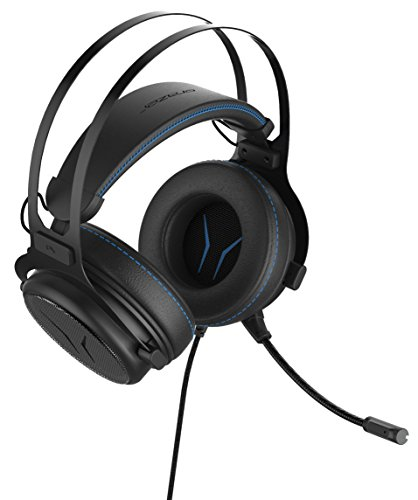 MEDION ERAZER X83017 Gaming Headset, 7.1 Surround, High-Performance-USB-Adapter, leistungsstarker Bass, Noise-Reduction, Over Ear-Design, schwarz