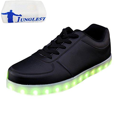 presentepequena-toallanegro-noir-low-cut-eu-28-shoes-zapatillas-junglestr-hombre-usb-intermitentes-t