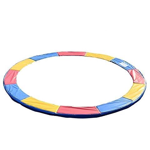 Homcom Randabdeckung Trampolin Durchmesser 305 cm, Bunt, 120307-023
