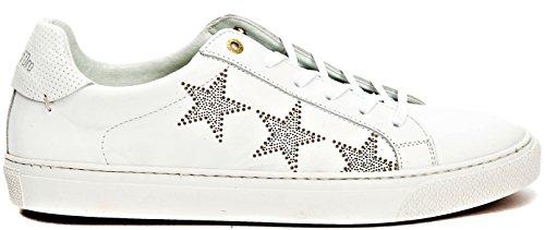 Preisvergleich Produktbild Schuhe Herren Pantofola d Gold Shoes Men Tody Sterne Low 43 EU Bianco