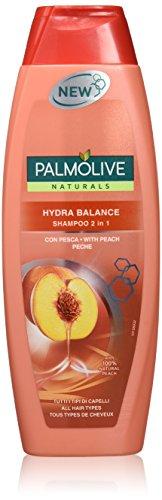 Palmolive Naturals -  Shampoo, 2 in 1 Hydra Balance, Capelli Facili de Pettinare, Per Tutti I Tipi di Capelli -  350 ml