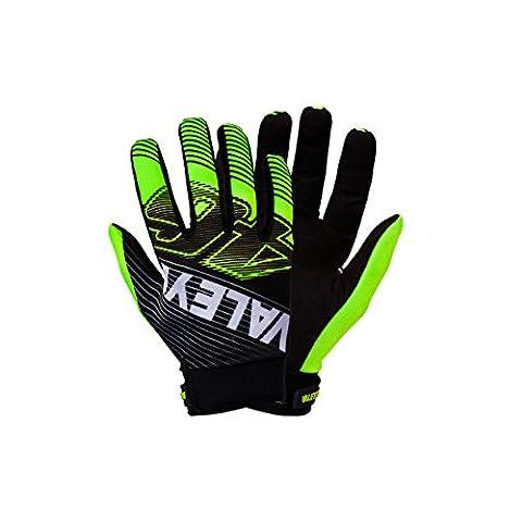 Valentino Rossi VR46 Moto GP Vale Gelb Handschuhe schwarz Offiziell 2017 (Valentino Rossi Shop)