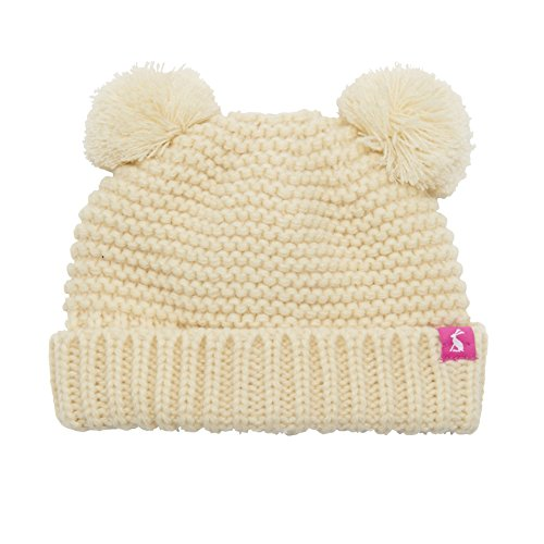 Joules Baby Pom Pom Hat in Cream-Small
