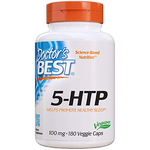 Doctor's Best 5-HTP, 100mg - 180 vcaps 180 unidades 70 g