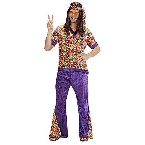 Widmann 73301 Erwachsenenkostüm Hippie, S