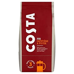 Costa Roast and Ground Coffee, 200g