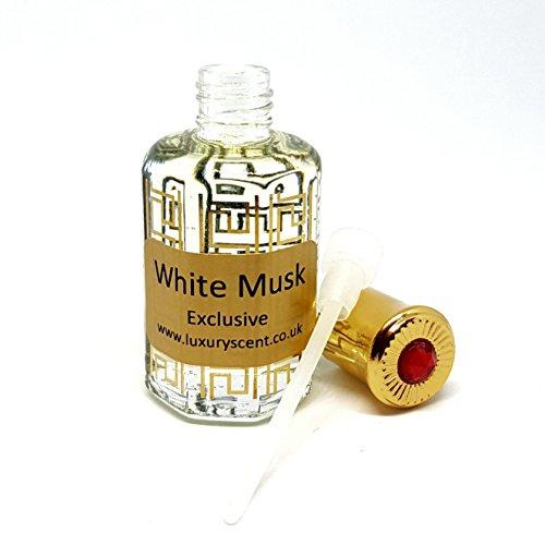 Weiß Moschus Körper Öl Premium Qualität Sweet Floral Parfüm Öl 24ml Top Verkäufer Rosenöl von Luxus Duft -