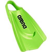 Arena Powerfin Pro - Aletas de Entrenamiento para natación, Color Acid Lime, tamaño 8-9