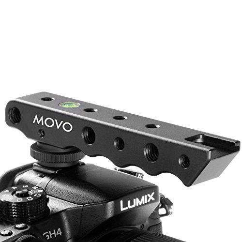 Movo Photo svh6asa Superior de estabilización de vídeo & Extensor de Zapata para Canon EOS, Nikon, Olympus y Pentax cámaras réflex Digitales