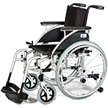 Patterson Medical Link - Silla de ruedas autopropulsada (41cm)