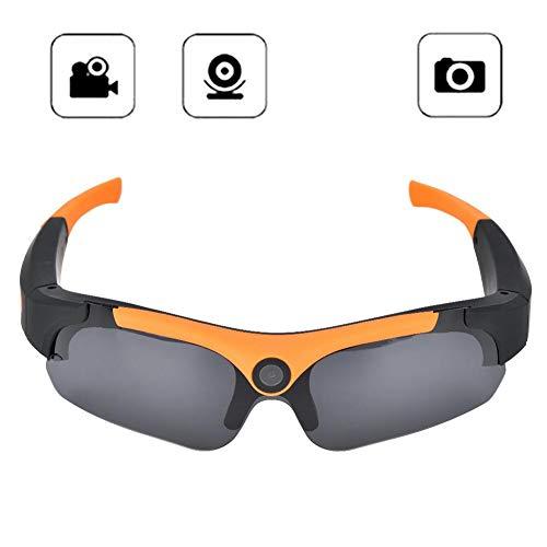 1080P HD Grabadora de video Gafas de sol Deportes al aire libre Cámara de acción Gafas de esquí Gafas de sol para Windows Para Mac, Adecuado para ciclismo, conducción, esquí, snowboard, carrera