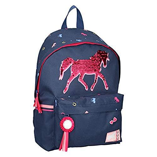 Milky Kiss 9843 Pferd Kinder-Rucksack 42cm 16.4L Plus Sticker-Bogen