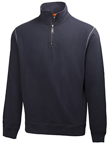 Helly Hansen Workwear Sweatshirt mit Reißverschluss Oxford HZ Sweater 590, Größe XXL, marine, 79027 -