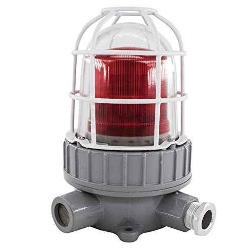 Explosion-Proof LED-Sound und Lichtalarm-Explosion-Proof-Warnsignale Explosion-Proof Warnung Licht (Clear Sound)