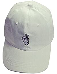 Cappello da baseball , feiXIANG Ricamo casual cotone berretto da baseball ragazzi ragazze Snapback Hip hop lettera Flat Hat