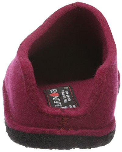 Haflinger Smily, Chaussons Mixte Adulte Rouge - Rot (Port 33)