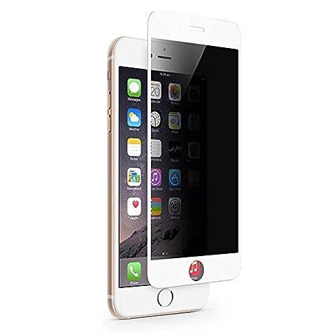 IPHONE 6 Plus Anti-Spy Anti-Voyeur Couverture Complète Protection Écran,SKYEARMAN 3D