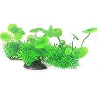 BAOLIJIN Plantas de Ornamento de Hierba de Acuario para Decoraciones de Paisaje de Tanque de Pescado Fish Tank Ornament (Color : Green)