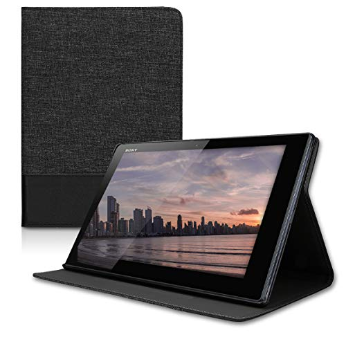 kwmobile Sony Xperia Tablet Z4 Hülle - Tablet Cover Case Schutzhülle für Sony Xperia Tablet Z4 mit Ständer