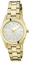 (CERTIFIED REFURBISHED) DKNY Analog Mother of Pearl Dial Womens Watch - NY8620CR