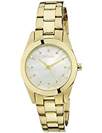 (CERTIFIED REFURBISHED) DKNY Analog Mother of Pearl Dial Women's Watch - NY8620#CR