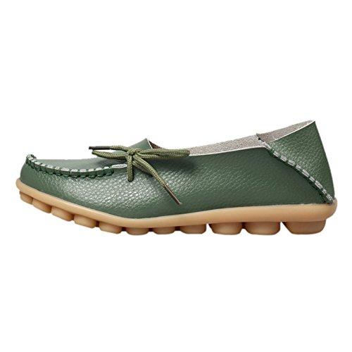 fereshte , Sandales Compensées femme green