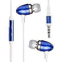 Asus ZenPad 7.0 Z370CG Earphone Auricular Bullet estéreo en línea sin manos Auricular con auriculares con micrófono y aislamiento de ruido ( Blue )