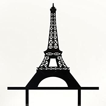 paris wedding cake topper eiffel tower cake topper wedding birthday 18118