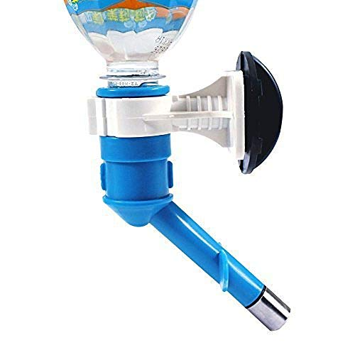 FJTHY Haustier-Wassertrinker-Hahnhahn-Praktisches Geschenk Umweltfreundliche Reinigung,Blau,Einheitsgröße