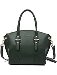 Clearance Women Leather Handbags Top Handle Satchel Designer Shoulder Bag Fashion Tote Purse Trapeze Laides Crossbody...