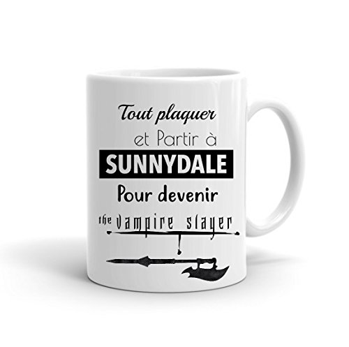 Mug Buffy Contre Les Vampires - Tout Plaquer et partir à Sunnydale, Divers