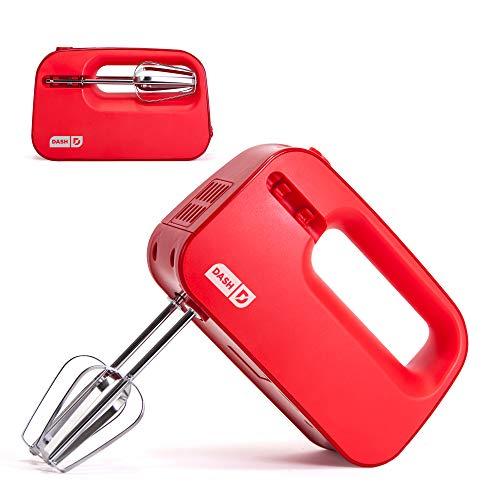 414sDrvo3xL. SS500  - Dash Smart Store Hand Mixer, Red