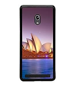 printtech Lotus Australia Building Back Case Cover for Asus Zenfone 5 , Asus Zenfone 5 A500CG