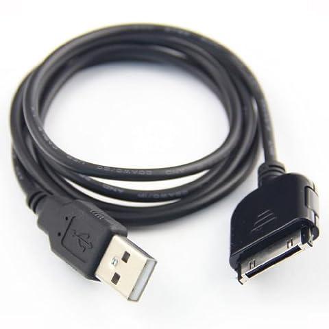 USB Daten- und Ladekabel für Sandisk Sansa Fuze View E250, C140, C150, MP3