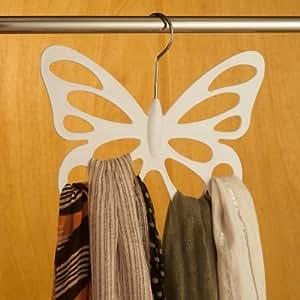 Vitrine Magique - Le cintre papillon pour foulards