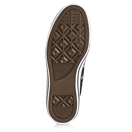553414C CONVERSE scarpe da ginnastica nere Nero