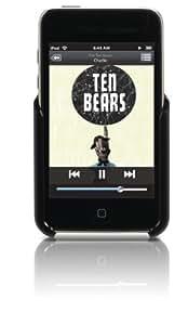 Gear4 PG595BLK X-Shield Coque plastique finition cuir pour iPod touch 2G Noir