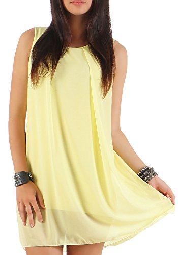 Malito Damen Kleid ärmellos | Elegantes Minikleid