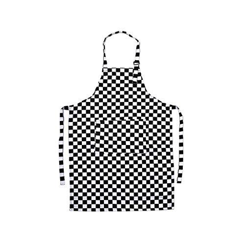 Justierbares Muster Chef Schürzen Kellner Kitchen Cook Schürze Lätzchen Kleid für Restaurant Baking Womens Mens (Color : B)