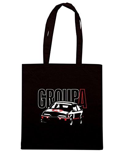 T-Shirtshock - Borsa Shopping TB0417 Sierra Cosworth RS Group A Touring Car Nero