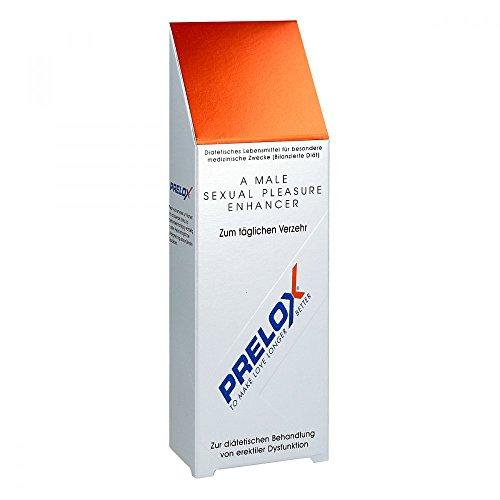 Prelox® natürliches Potenzmittel - 60 Kapseln | Das Original | Mehr Potenz und Manneskraft | Erhöht Lust und Libido | Für die sexuelle Gesundheit | Wirkt Sofort | 100% natürliche Inhaltsstoffe