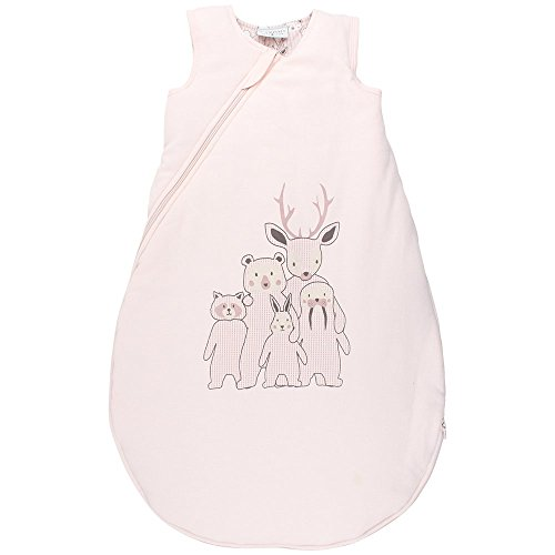 Fixoni Baby-Mädchen Schlafsack Future Sleeping Bag, Rosa (20-22 Pearl), Neugeboren (Herstellergröße: 62/68)