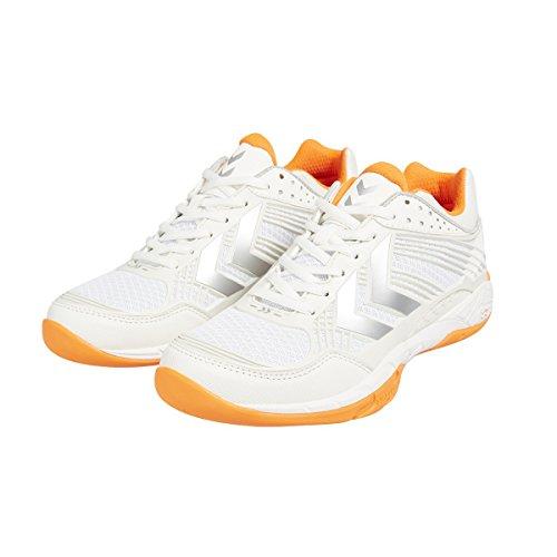 HummelHUMMEL OMNICOURT Z8 FLEXSHIELD - Scarpe sportive indoor Unisex – adulto Bianco - bianco