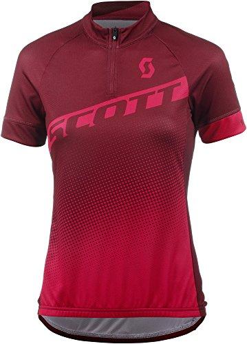 Scott Endurance 40 Damen Fahrrad Trikot kurz rot/pink 2018: Größe: S (36/38)