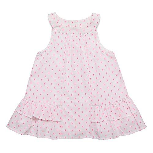 ESPRIT Baby-Mädchen Kleid Weiß (White 010), 68