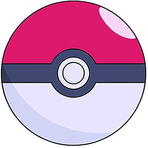 Pokemon Go 20,3cm (20cm) rund vorgeschnittenen Tortenaufleger