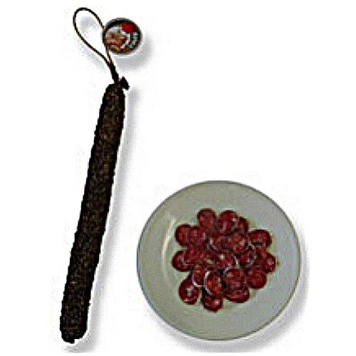 Dünne, luftgetrocknete Salami mit Pfeffermantel - ca. 160 gr