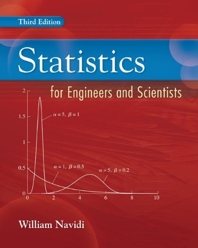 Statistics for Engineers and Scientists por William Navidi